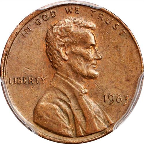 1983 Copper Lincoln Cents